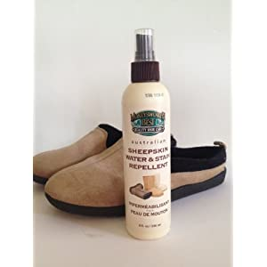 Moneysworth & Best Sheepskin Water & Stain Repellent-Pump