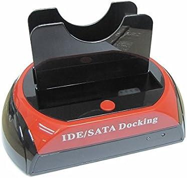 BASE DOCKING CONEXION HDD DISCOS DUROS IDE SATA 2.5 3.5 USB LECTOR ...