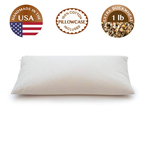 ComfySleep Buckwheat Pillow