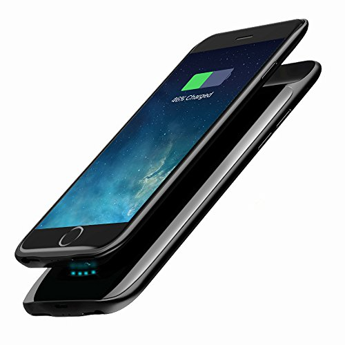 Ultra Slim iPhone 6 6s 7 8 Battery Case 2600mAh, Elzle Portable Charging Case, Rechargeable External Battery Power Charger Protective Charger Case for iPhone 6 6s iPhone 7 8 (4.7 Inch)