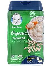 Gerber Organic Cereal Oatmeal, 227g