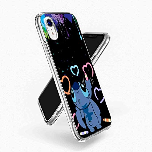 DISNEY COLLECTION Fit for Apple iPhone Xr 6.1inch Lilo Stitch Paint]()
