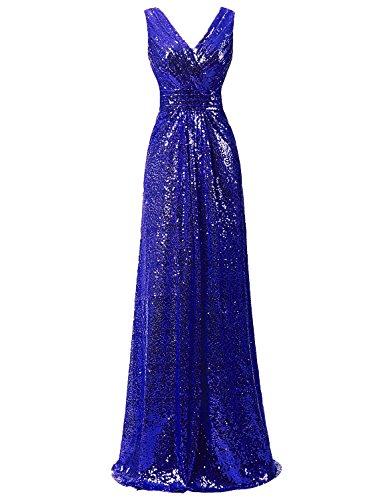 Ysmo - Vestido - trapecio - para mujer azul azul real