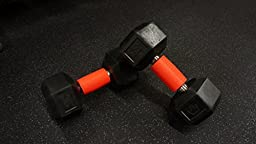 Thick Bar Fat Grips for Barbell, Dumbbell, Kettlebell. Weightlifting Gripz, Arm Builder Adapter for Muscle Growth to Forearm, Bicep, Tricep, Chest - Bodybuilding, Crossfit, Weight Training, Fitness