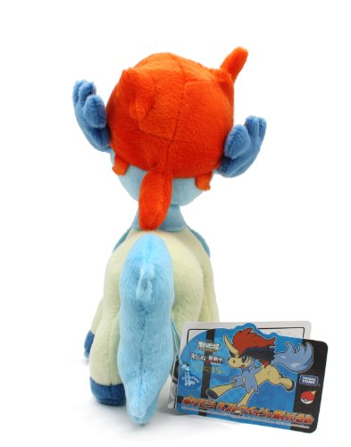 Pokemon-Best-Wishes-Plush-Doll-Takaratomy-N-30-Keldeo-japan-import