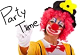 Red Circus Clown Nose Halloween Christmas Party/Magic Dress