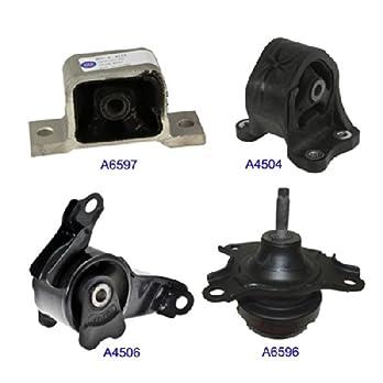 MaxBene-Fits-2003-2011-Honda-Element-24L-Engine-Motor-Mount-4PCS-for-Auto-Transmission-9066-9139-9168-9205