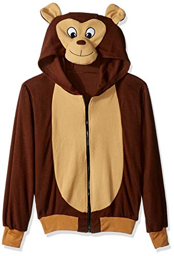 RG Costumes Men's Morgan The Monkey Hoodie, Multicolor, Large