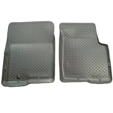 Husky Liners Classic Style Custom Fit Molded Front Floor Liner for Select Ford Models (Grey)