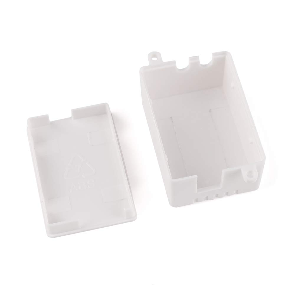 10Pcs Junction Box ABS Plastic Electrical Project Power Case White 1.97x 1.38 x 0.87 50 x 35 x 22mm