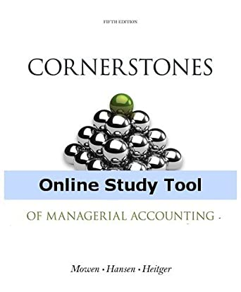 Ebook Managerial Accounting Hansen Mowen