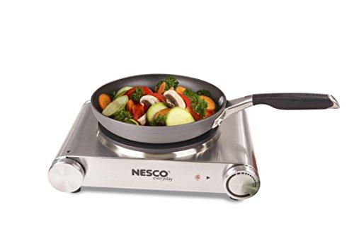 Nesco SB-01 Stainless Steel Electric Burner, 1500-watt by Nesco (Image #3)