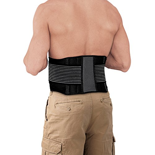 ACE Adjustable Back Brace, One-Size-Fits-Most, America's Most Trusted Brand of Braces and Supports, Money Back Satisfaction Guarantee