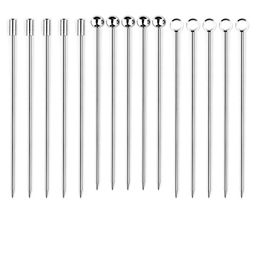 I-MART Stainless Steel Cocktail Picks Martini Picks Set (Pack of ()