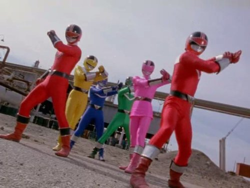 power rangers time force - 4