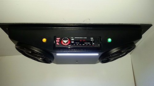 EMPTY GOLF CART UTV OVERHEAD CONSOLE