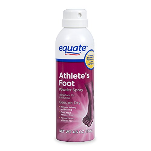 Athlete Golf - Athlete's Foot Powder Spray 4.6oz By Equate, Compare to Tinactin