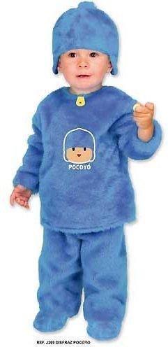 Disfraz de Pocoyó Talla 1-3 Años