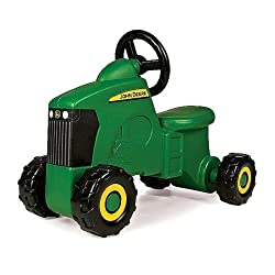 John Deere Sit-N-Scoot Tractor Play Toy Ride Outdo