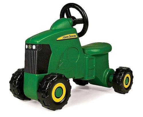 (John Deere Sit-N-Scoot Tractor Play Toy Ride Outdoor Farm Kid Toddler Play Boys)