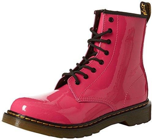Dr. Martens Delaney Boot,hot Pink, (Medium/4 F(M) UK Youth/5 M US Little Kid)