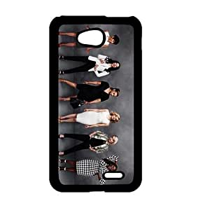 Cool Slim Protection Accessory for LG L70, Orange Is the New Black Design