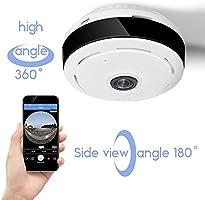 D3D Wireless Fisheye Vision 360° Panoramic IP Camera CCTV Security Ho
