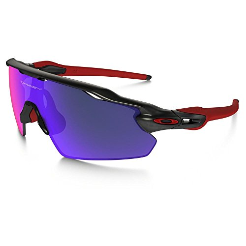 Oakley Men's Radar OO9211-02 Shield Sunglasses, Matte Black Ink, 138 - Oakley Cycling Goggles