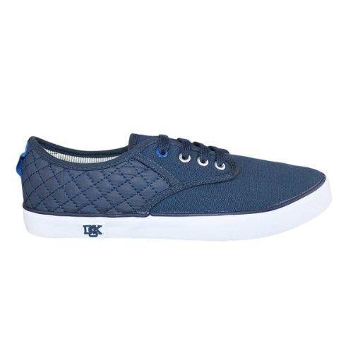 Deakins Herren Nicholas Sensei Design Lace Up Canvas Sportschuhe Navy Canvas Nylon