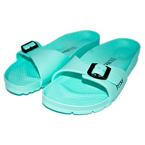Sandals Thong Mint Home Flops Slippers Women Outdoor Comfort Summer Indoor FITSY Travel Micah and Flip twIqqF