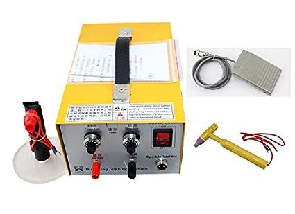 2en1 Multifunción Pulso Punto de Soldador 200W Joyería Máquina de Soldadura 220V