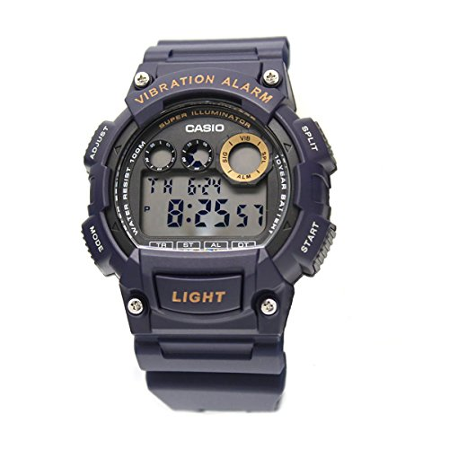 Navy Blue Digital Sport Watch - 5