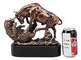 Ebros Wall Street Stock Market Charging Bull