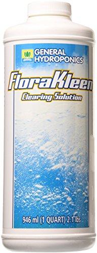 General Hydroponics FloraKleen QT - Mineral Salt Clearing Solution (Best Soil For Hydroponics)
