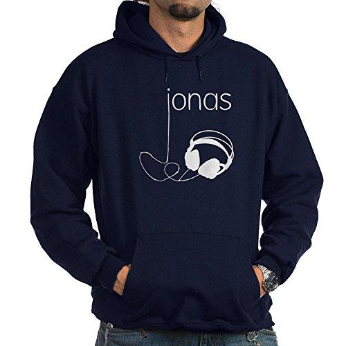 CafePress Jonas Bros Headphones Hoodie (dark) - Pullover Hoodie, Classic & Comfortable Hooded - Jonas Brothers Hoodie