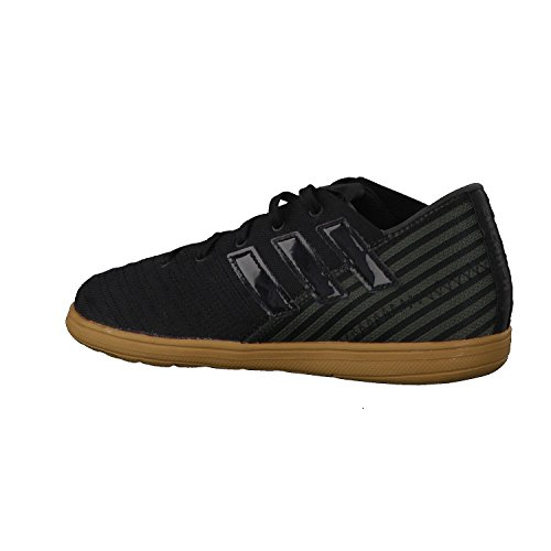 adidas Nemeziz 17.4 In J, Zapatillas de Fútbol Sala Unisex Niños Negro (Core Black/core Black/utility Black)