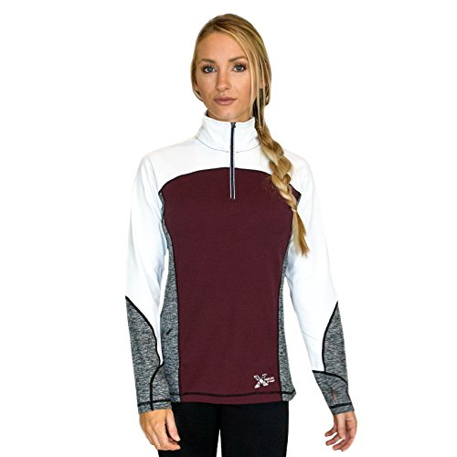Ladies 1/4 Zip Sweatshirt - 9