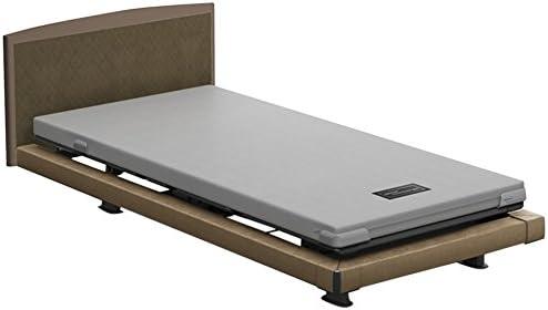 [スポンサー プロダクト]パラマウントベッド 電動ベッド インタイム1000 マットレス付 1+1モーター ハリウッド フットボード無し (ブラウン) RQ-1132BB+RM-E251 【4梱包】