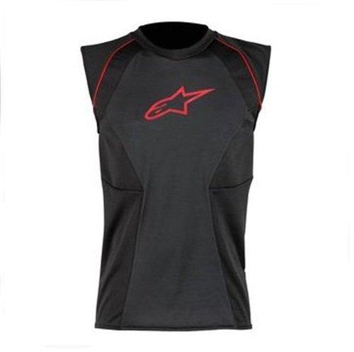 Alpinestars MX Cooling Vest (Black/Red, Medium)
