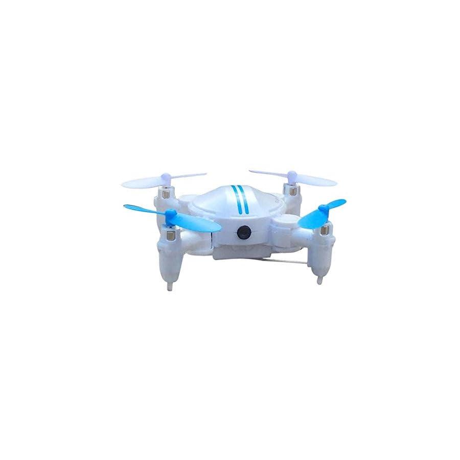 Everyone Love Mini RC Quadcopter, 2.4GHz 4CH 6-Axis Gyro 3D UFO Drone FPV WIFI Nano Camera Quadcopter