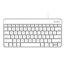 Logitech Wired Keyboard for iPad with Lightning Connector – White