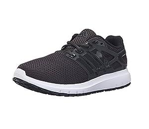 adidas Performance Men's Energy Cloud Wtc m Running Shoe, Black/Utility Black/White, 11.5 M US