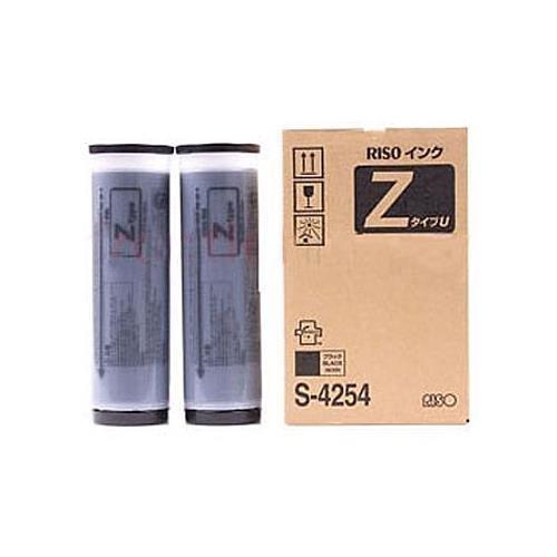 Risograph S-4254 OEM Toner - RZ220 220UI 220U390 Black Ink (2 Ctgs/Ctn) OEM by RISO (Black Risograph Toner)