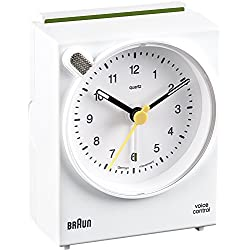 Braun BNC004 Alarm Clack White