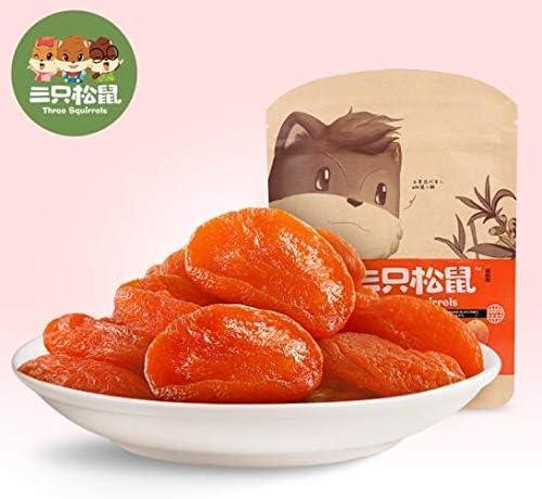 三只松鼠 中国名物 おつまみ 大人気 蜜饯 果干 红杏干 1x106g/袋