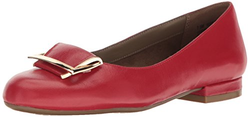Red On Women's Loafer Slip Good Aerosoles Leather Times waYAInxq