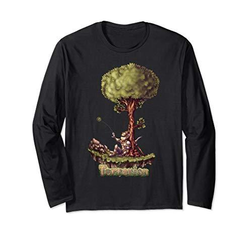 Terraria Halloween Clothes (Terraria Long Sleeve T-Shirt: The)