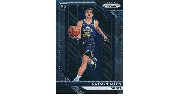 2018-19 Panini Prizm Grayson Allen #123 Novato