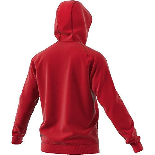 Para Adidas Rojo blanco Hombre Capucha Sudadera Cv3332 Con Tx6PIzx