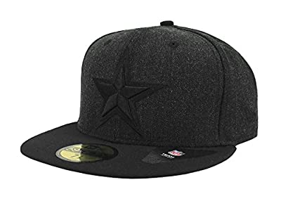 New Era 59Fifty Hat NFL Dallas Cowboys Shader Melt 2 Official Black Fitted Cap